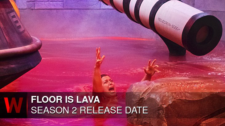 Floor Is Lava Season 2: Premiere Date, Schedule, Trailer and Cast
