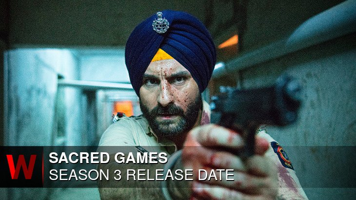 Sacred Games Season 3: Premiere Date, Schedule, Trailer and Spoilers